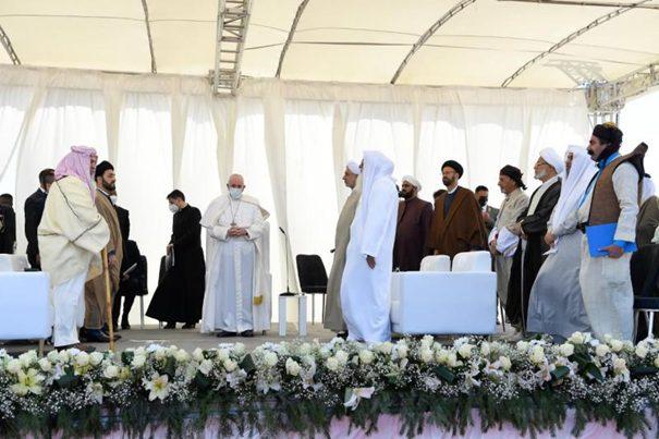 Pausbezoek aan Irak (foto Vatican Media)