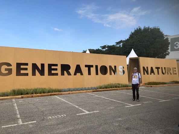 foto Générantions Nature op IUCN 6 sep 2021 Wervel)